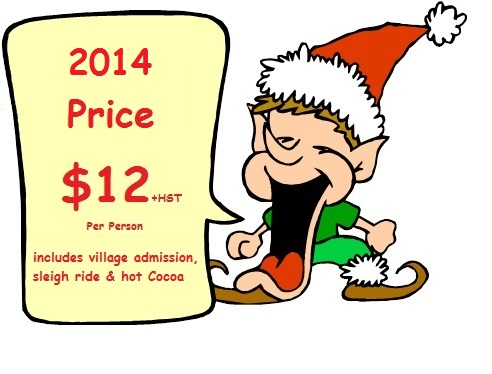 Christmas Village Pricing