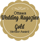 Ottawa Wedding Magazine Gold Vendor Award
